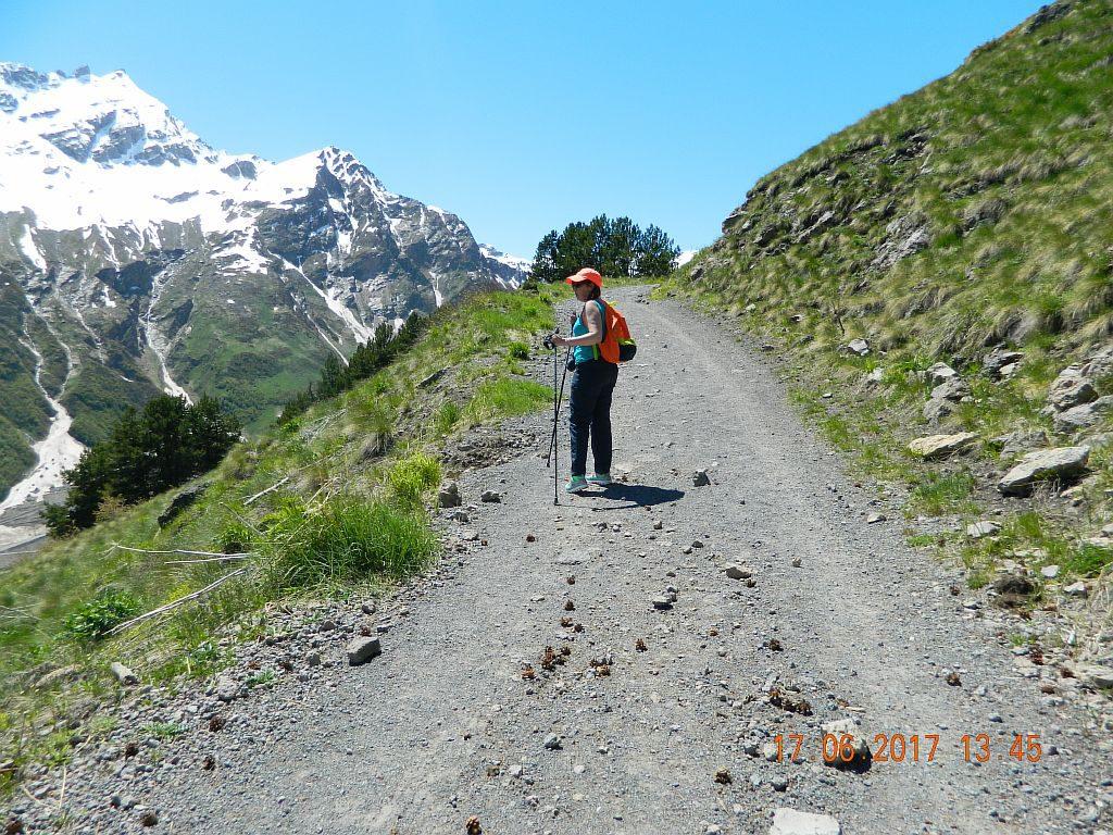 Дорога на водопад Девичьи Косы