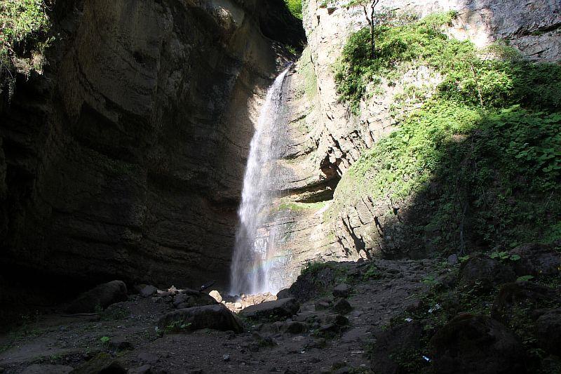 Малый Чегемский водопад фото