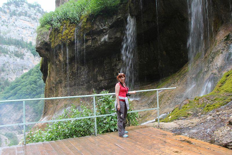 Фотографии с водопада.