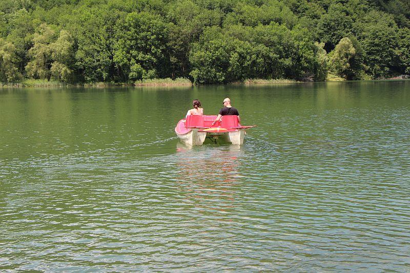 Восточное Голубое озеро.