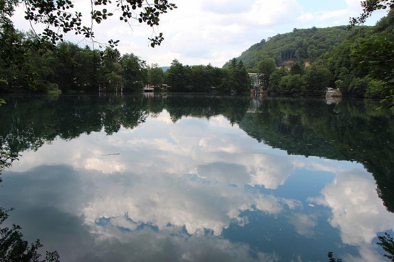 Нижнее Голубое озеро.
