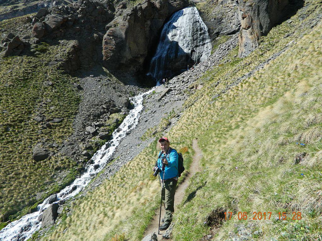 300 метров до водопада