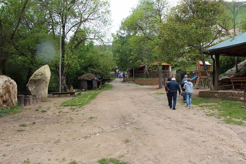 Прогулка по парку Медовые водопады.