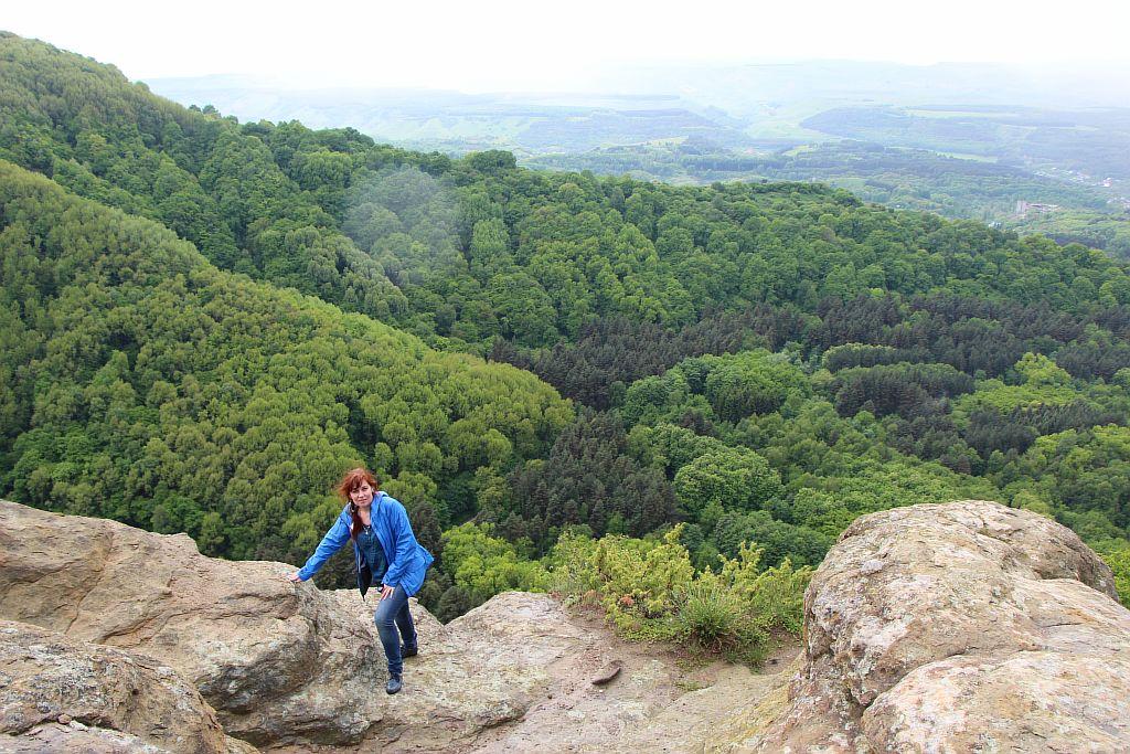 Вид с горы Малое седло. Кисловодск.