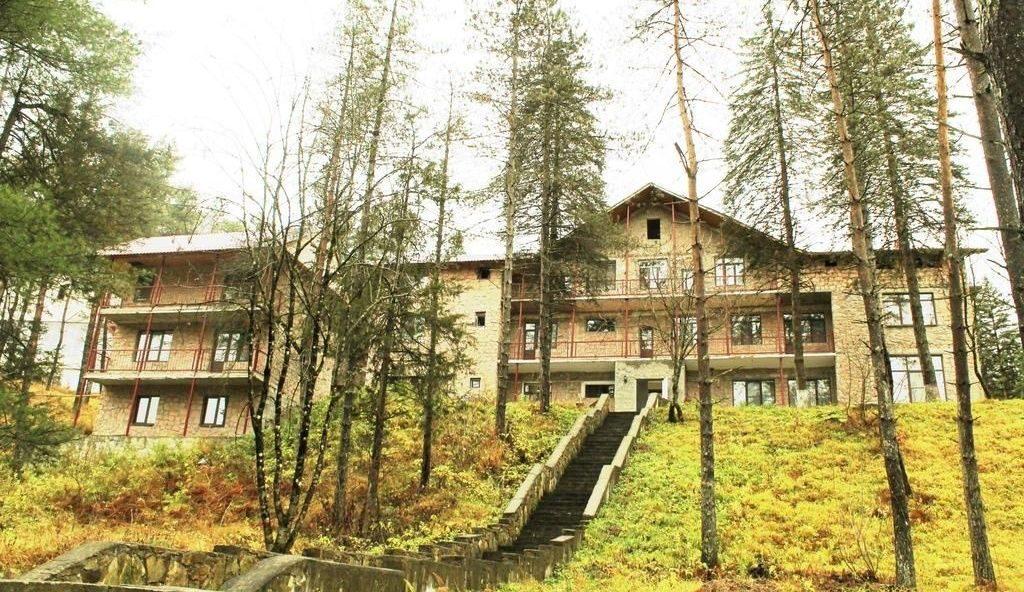 Отель Голубое озеро