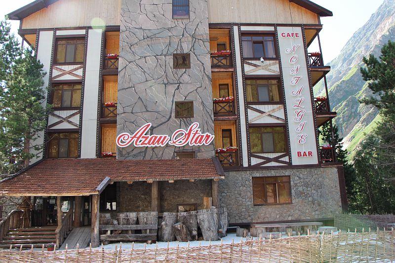 Отель Азау Стар в Приэльбрусье.