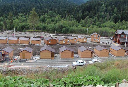 Коттеджный поселок Аллюр в Архызе.