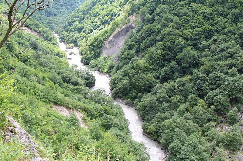 Верхняя Балкария. Черекское ущелье.