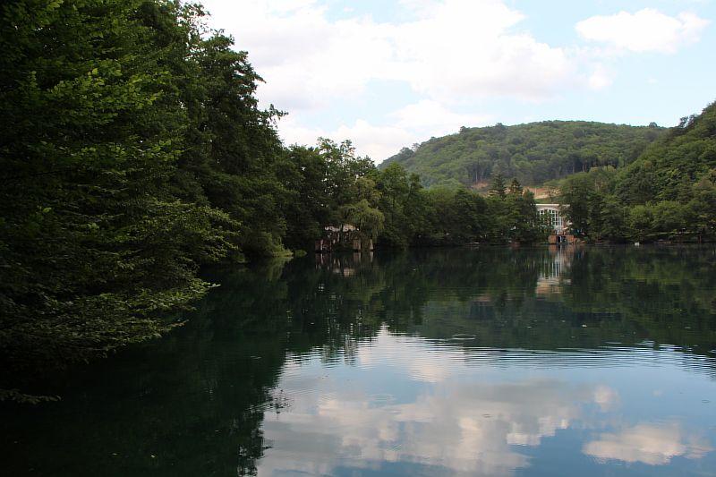 Первое Голубое озеро КБР.