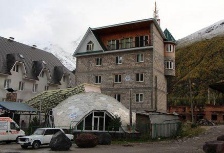 Отель Купол. Терскол.