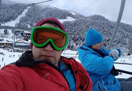 Зимняя поездка на отдых в Архыз