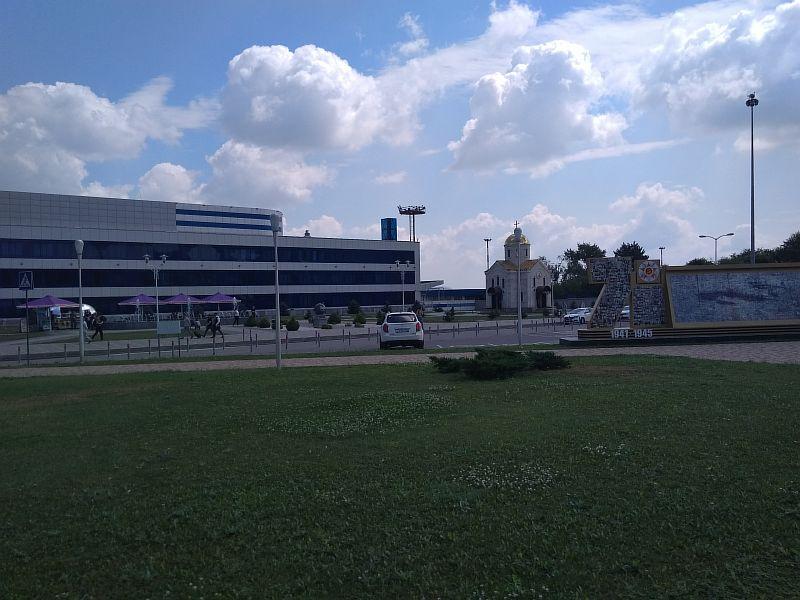Аэропорт в Минеральных Водах.