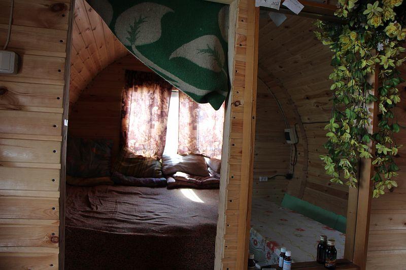 Спальня в Бочке.