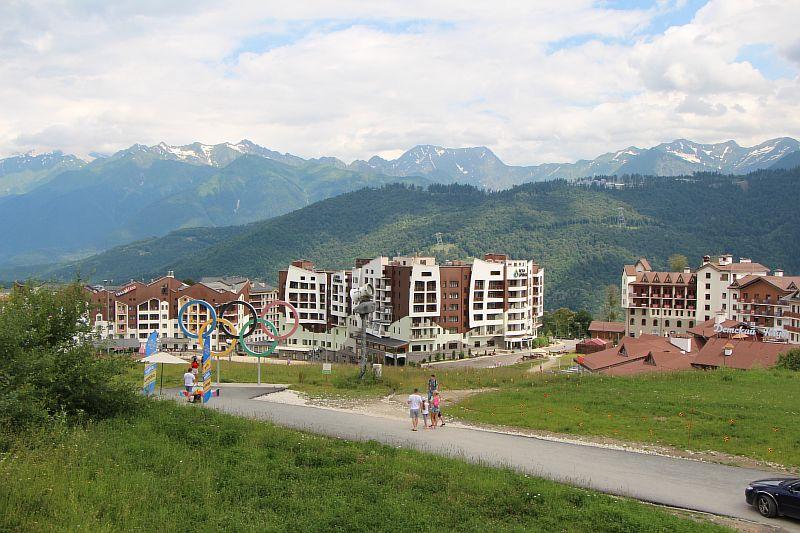 Олимпийская деревня.