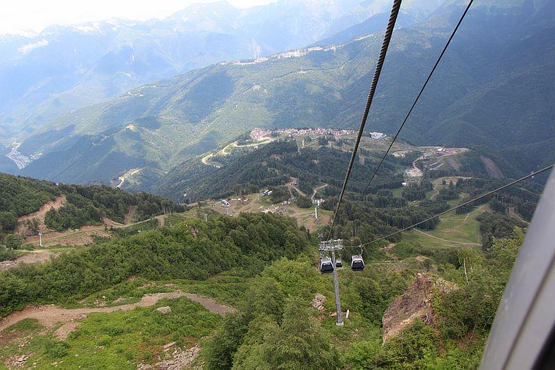 Вид на горы.