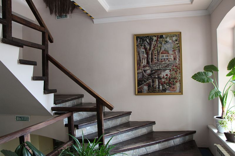 Лестница на третий этаж.
