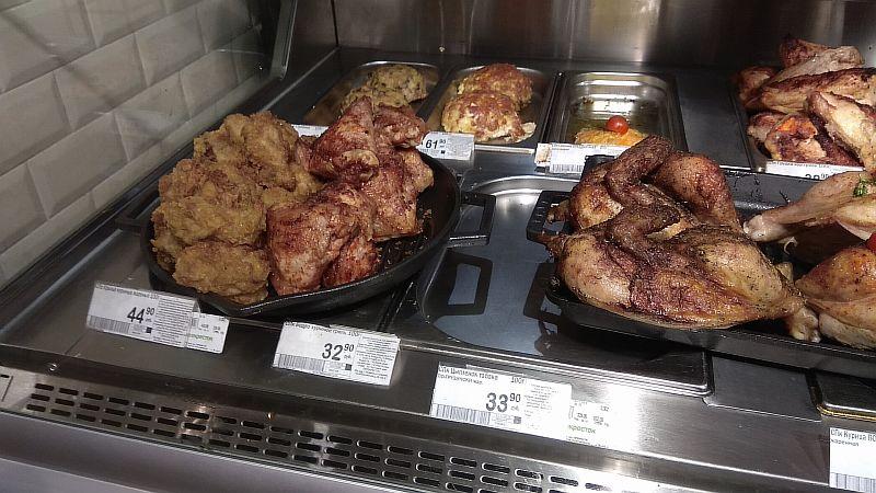 Мясные блюда из курицы в асортименте