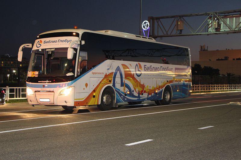 Экскурсии на автобусах.