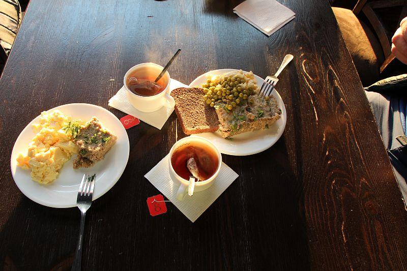 Наш завтрак.