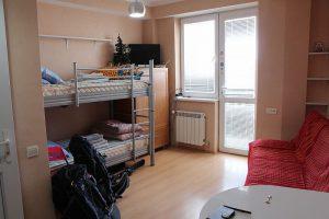 Комната в апартаментах.