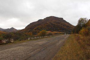 Дорога к перевалу.