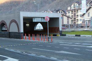 Парковки Красной Поляны