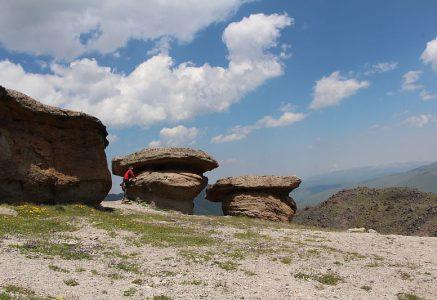 Каменные грибы в Джилы Су