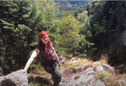 Архыз речка Белая поездка на водопад