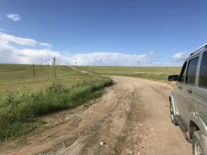 Дорога на Бермамыт