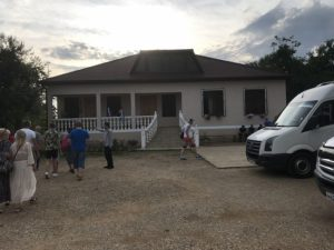 Дом абхазской семьи в селе Дурипш